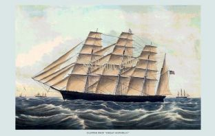 Clipper Ship - Great Republic